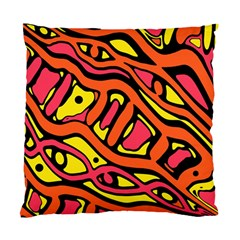 Orange hot abstract art Standard Cushion Case (Two Sides)