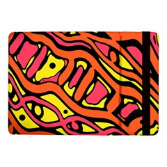 Orange hot abstract art Samsung Galaxy Tab Pro 10.1  Flip Case