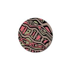 Decorative abstract art Golf Ball Marker (4 pack)