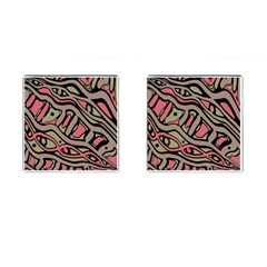 Decorative abstract art Cufflinks (Square)