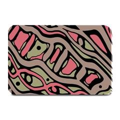 Decorative abstract art Plate Mats