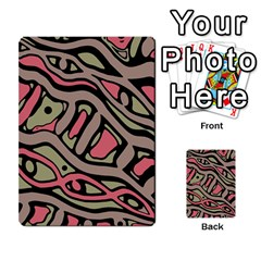 Decorative abstract art Multi-purpose Cards (Rectangle)