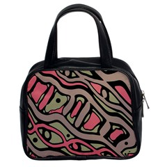 Decorative abstract art Classic Handbags (2 Sides)