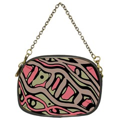 Decorative abstract art Chain Purses (Two Sides)