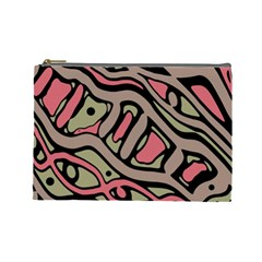 Decorative abstract art Cosmetic Bag (Large)