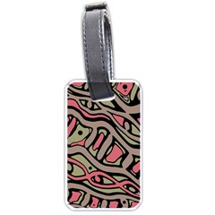 Decorative abstract art Luggage Tags (Two Sides)