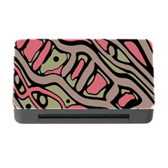 Decorative abstract art Memory Card Reader with CF
