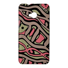 Decorative abstract art HTC One M7 Hardshell Case