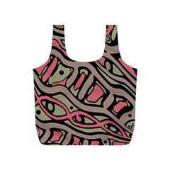 Decorative abstract art Full Print Recycle Bags (S)