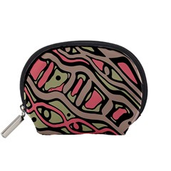 Decorative abstract art Accessory Pouches (Small)
