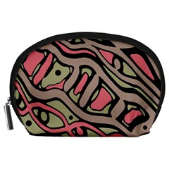 Decorative abstract art Accessory Pouches (Large)