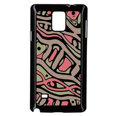 Decorative abstract art Samsung Galaxy Note 4 Case (Black)