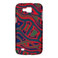 Red and green abstract art Samsung Galaxy Premier I9260 Hardshell Case