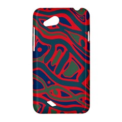 Red and green abstract art HTC Desire VC (T328D) Hardshell Case