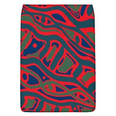 Red and green abstract art Flap Covers (S)