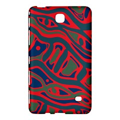 Red and green abstract art Samsung Galaxy Tab 4 (8 ) Hardshell Case