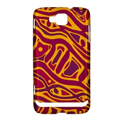 Orange abstract art Samsung Ativ S i8750 Hardshell Case