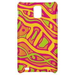 Orange hot abstract art Samsung Infuse 4G Hardshell Case
