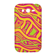 Orange hot abstract art Samsung Galaxy Grand DUOS I9082 Hardshell Case