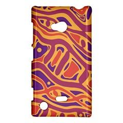 Orange decorative abstract art Nokia Lumia 720