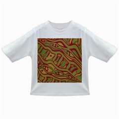 Brown abstract art Infant/Toddler T-Shirts