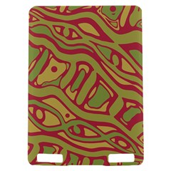 Brown abstract art Kindle Touch 3G