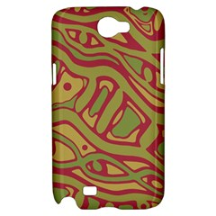 Brown abstract art Samsung Galaxy Note 2 Hardshell Case