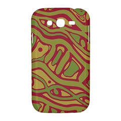 Brown abstract art Samsung Galaxy Grand DUOS I9082 Hardshell Case