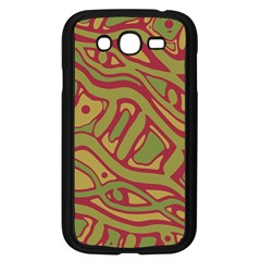 Brown abstract art Samsung Galaxy Grand DUOS I9082 Case (Black)