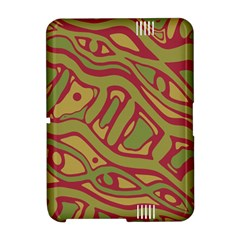Brown abstract art Amazon Kindle Fire (2012) Hardshell Case