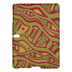 Brown abstract art Samsung Galaxy Tab S (10.5 ) Hardshell Case