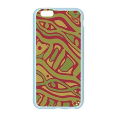 Brown abstract art Apple Seamless iPhone 6/6S Case (Color)