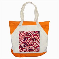 Pink and purple abstract art Accent Tote Bag