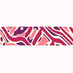 Pink and purple abstract art Large Bar Mats