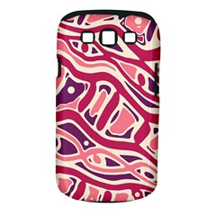 Pink and purple abstract art Samsung Galaxy S III Classic Hardshell Case (PC+Silicone)