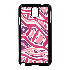 Pink and purple abstract art Samsung Galaxy Note 3 Neo Hardshell Case (Black)