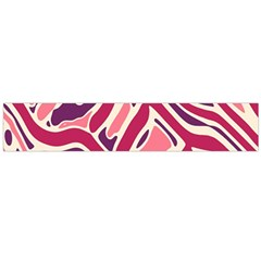 Pink and purple abstract art Flano Scarf (Large)