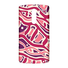 Pink and purple abstract art LG G3 Back Case