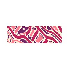 Pink and purple abstract art Satin Scarf (Oblong)