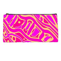 Pink abstract art Pencil Cases