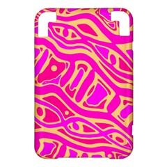 Pink abstract art Kindle 3 Keyboard 3G