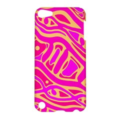 Pink abstract art Apple iPod Touch 5 Hardshell Case