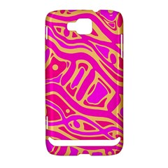 Pink abstract art Samsung Ativ S i8750 Hardshell Case