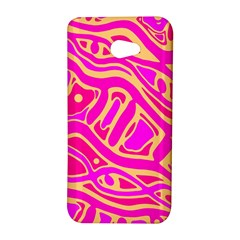 Pink abstract art HTC Butterfly S/HTC 9060 Hardshell Case