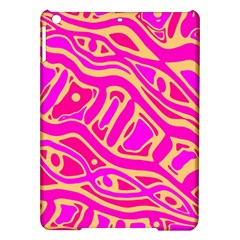 Pink abstract art iPad Air Hardshell Cases