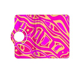 Pink abstract art Kindle Fire HD (2013) Flip 360 Case