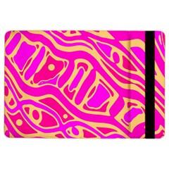 Pink abstract art iPad Air 2 Flip