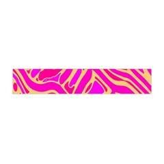 Pink abstract art Flano Scarf (Mini)