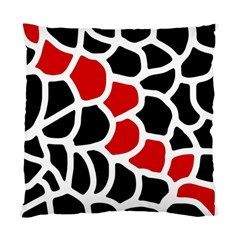 Red, black and white abstraction Standard Cushion Case (One Side)