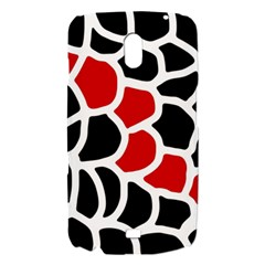 Red, black and white abstraction Samsung Galaxy Nexus i9250 Hardshell Case